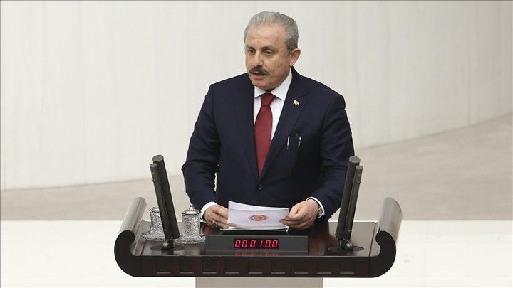 """انتخاب """" مصطفى شنطوب """" رئيسا للبرلمان التركي"""