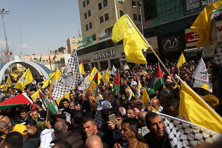 تواصل مسيرات الدعم والتأييد للرئيس في محافظات الوطن
