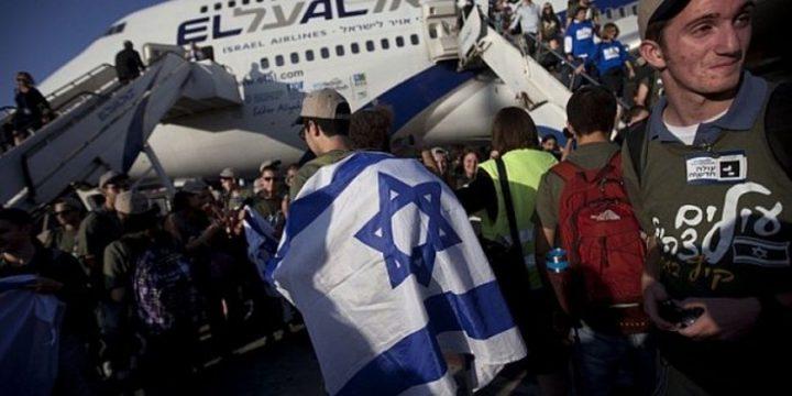 وصول 243 مهاجر يهودي من اوكرانيا لاسرائيل
