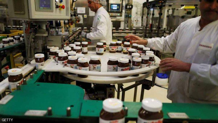 """""""عيب صادم"""" يغلق أكبر مصنع """"نوتيلا"""" في العالم"""