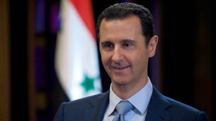 الأسد يزور طهران ويلتقي خامنئي وروحاني