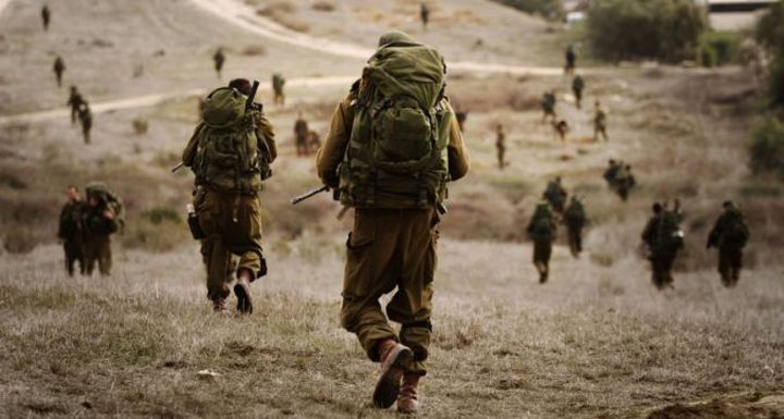 قوات الاحتلال تنفذ مناورات عسكرية غرب جنين