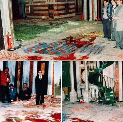 مجزرة الحرم الإبراهيمي في الخليل عام 1994