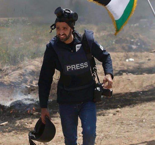 اختيار صحفي من غزة ضمن أفضل خمس مصورين على مستوى العالم