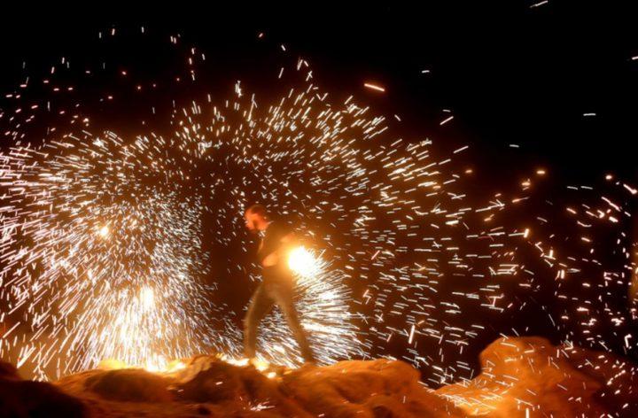 الاحتلال يطلق النار صوب المشاركين في الارباك الليلي شرق غزة