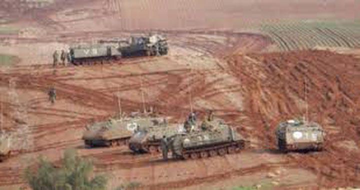 الاحتلال يختتم تدريبات عسكرية على غلاف غزة
