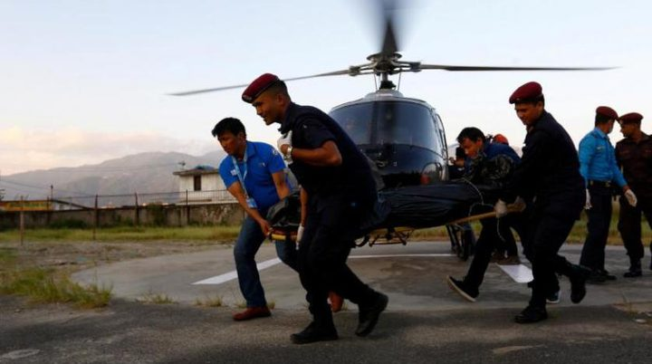 مصرع وزير و6 أشخاص في تحطم مروحية في نيبال