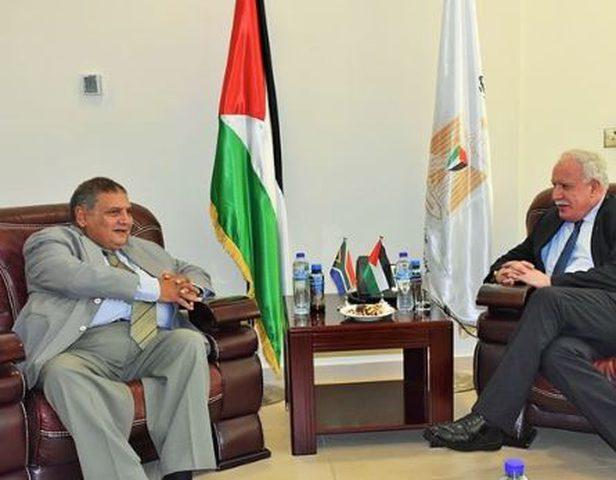 المالكي يطلع نائب وزير خارجية جنوب أفريقيا على آخر المستجدات
