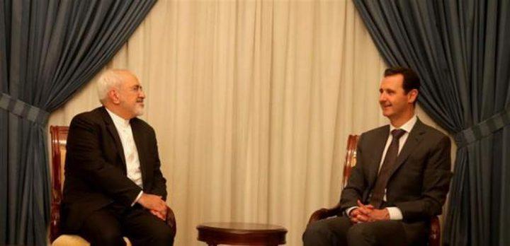 الأسد يدعو ظريف إلى زيارة دمشق