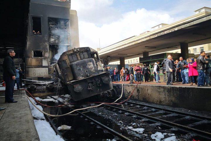 40 قتيلا في حريق محطة القطارات بالقاهرة