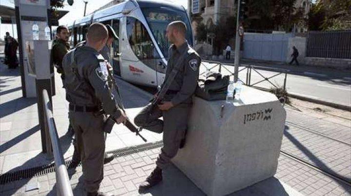 حاجز لقوات الاحتلال غرب بيت لحم يتسبب بأزمة مرورية خانقة