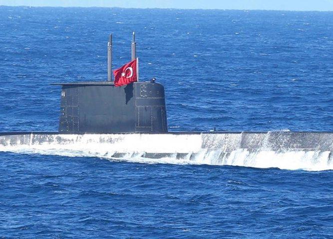 إنطلاق أكبر مناورات بحرية تركية