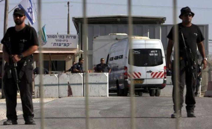 """اسرى """"عتصيون"""" يُرجعون وجبات الطعام احتجاجا على ظروف اعتقالهم"""