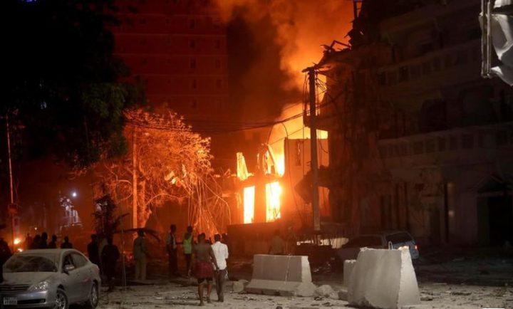 مقتل 10 أشخاص في انفجار بالصومال