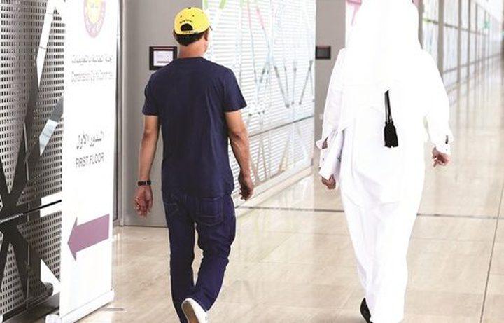السفير غنام يبحث مع وزير العمل القطري استقدام الكفاءات للعمل بقطر