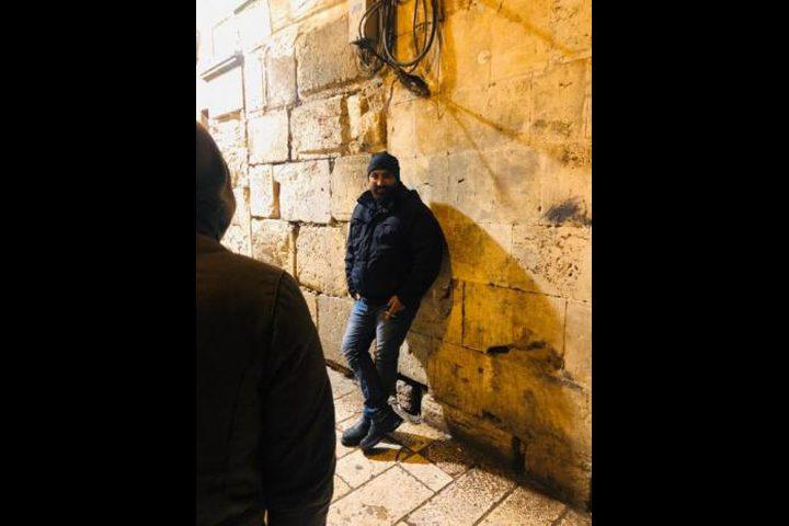 الاحتلال يعتقل الاطفائي في المسجد الأقصى عماد عابدين