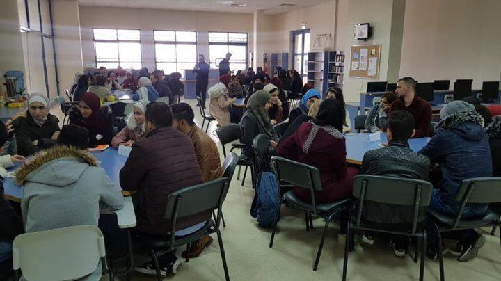 مركز الموارد التعليمية للغات ينظّم نشاطاً بعنوان (مقهى اللغات)