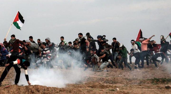 إصابات بالرصاص الحي وبالاختناق شرق قطاع غزة