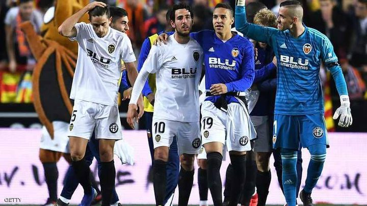 بلنسية يواجه برشلونة في نهائي كأس ملك إسبانيا