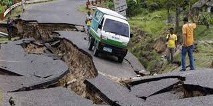 زلزال بقوة سبع درجات يضرب البيرو