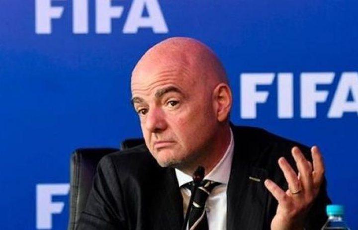 """إنفانتينو: قطر وحدها غير قادرة على استضافة مونديال""""2022"""""""