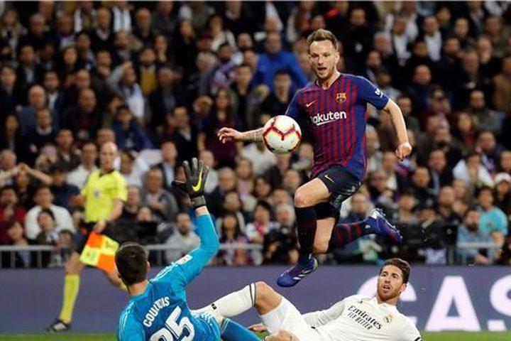 برشلونة يهين ريال مدريد في معقله بهدف وحيد