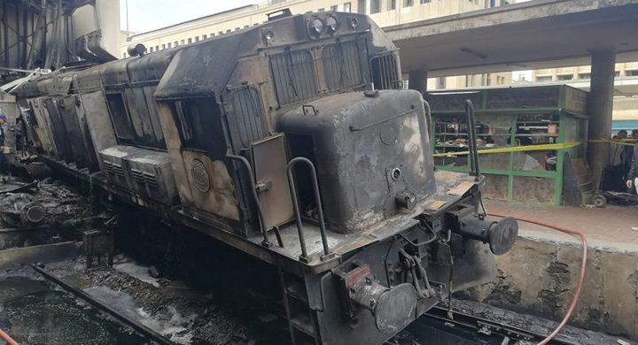 حبس 6 متهمين في حادثة قطار محطة مصر 15 يوما