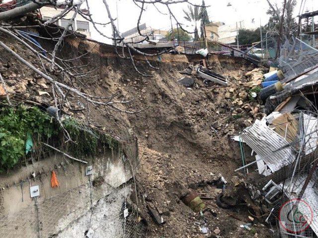 القدس: انهيار أرضي جديد في ملعب سلوان بسبب حفريات الاحتلال