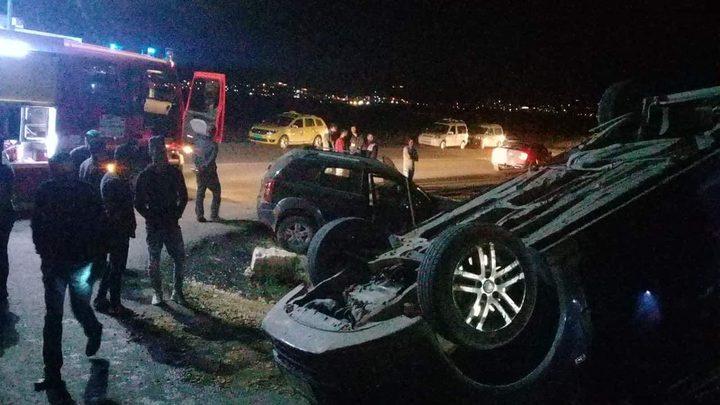 إصابة شاب بجروح خطيرة بحادث دهس غرب جنين