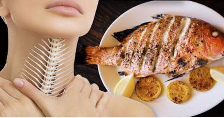 ماذا لو أكلت شوك السمك من غير أن تنتبه.. تعرف على التصرف الصحيح