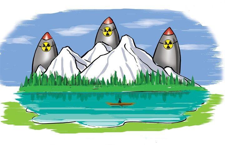 جنة على الأرض:بورتريه يصف 3 دول نووية