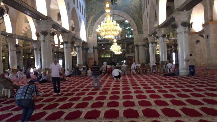 """""""الخارجية"""" تُدين حملة الإبعادات التعسفية عن  المسجد الأقصى"""