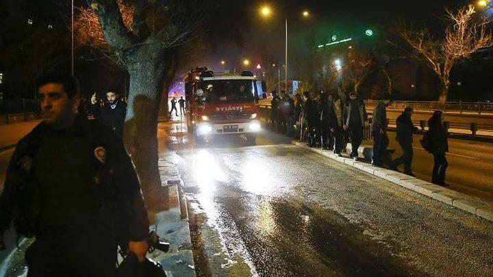 مصرع 4 أشخاص بحريق في أشهر أحياء إسطنبول