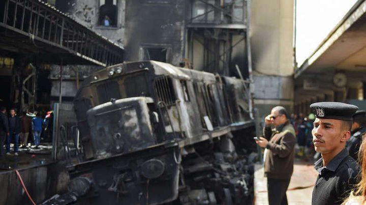 الطب الشرعي المصري: معظم ضحايا فاجعة القطار توفوا حرقا