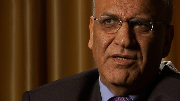 عريقات يعقب على تنفيذ قرار إغلاق القنصلية الأمريكية في القدس