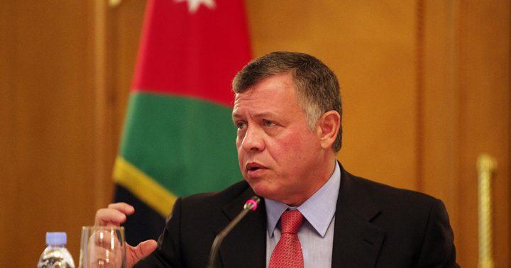العاهل الأردني يجدد التأكيد على موقف بلاده الثابت تجاه فلسطين