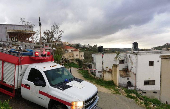الدفاع المدني يتعامل مع 410 حادث إطفاء وإنقاذ في اسبوع