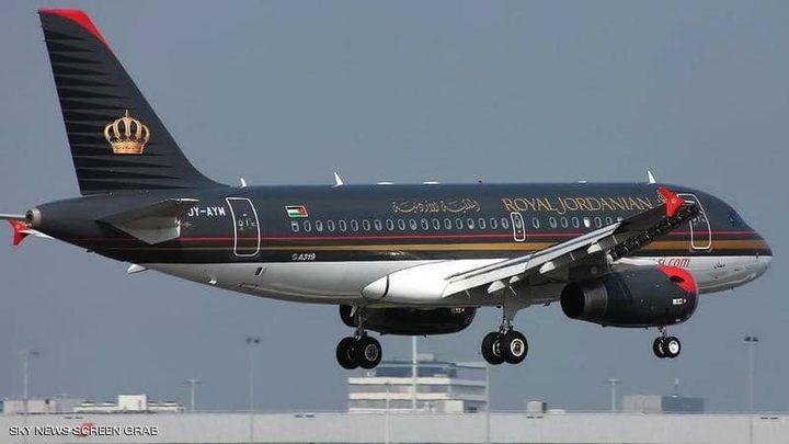 الطيران الأردني يعبر الأجواء السورية بعد انقطاع
