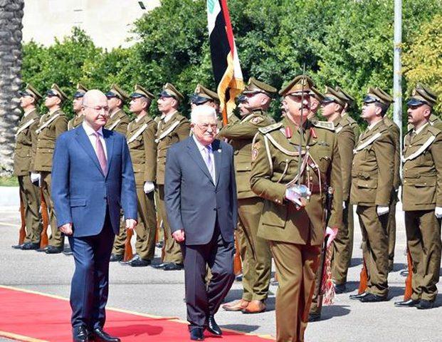 الرئيس يغادر العراق في ختام زيارة رسمية