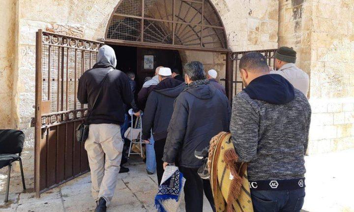 الاحتلال يمهل الأوقاف أسبوعا للرد على طلب إغلاق مصلى باب الرحمة