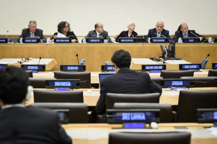 """""""اللجنة المعنية بحقوق الشعب الفلسطيني"""" تبدأ اجتماعاتها في بروكسل"""