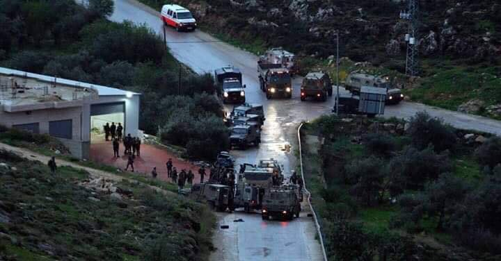 استشهاد شابين واصابة ثالث برصاص الاحتلال قضاء رام الله