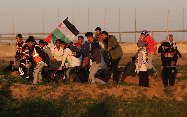 إصابة مواطنين برصاص الاحتلال شرق البريج وسط القطاع