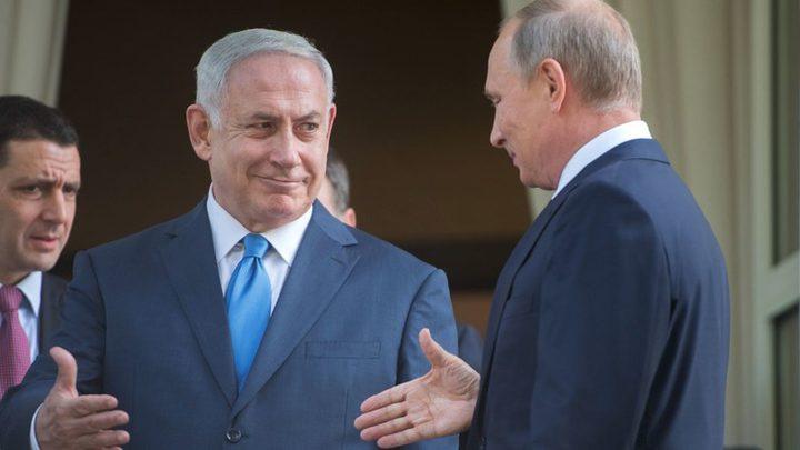 نتنياهو: اتفقت مع بوتين على استمرار التنسيق العسكري في سوريا