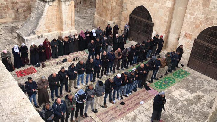 مجلس الاوقاف: مصلى باب الرحمة سيبقى مفتوحاً