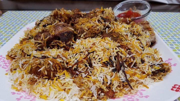 أرز بخاري على الطريقة الأصلية 2