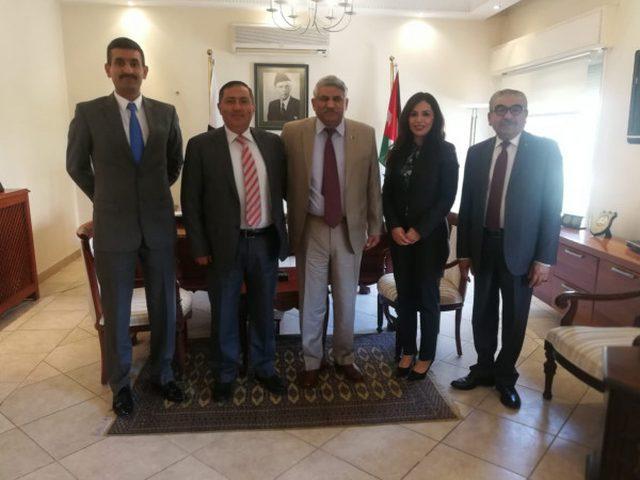 السفير شامية يعقد عدة لقاءات مع السفراء لدى دولة فلسطين