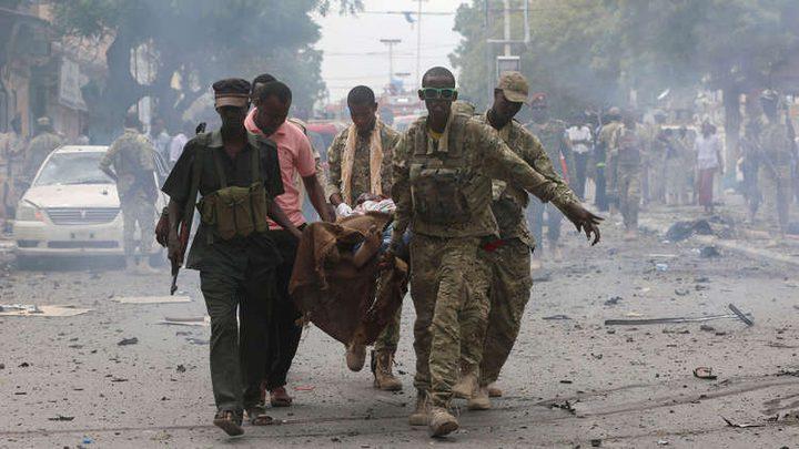 الصومال.. قتلى وجرحى جراء تفجير قوي وسط مقديشو