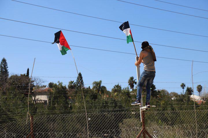 مواجهات بين الشبان وقوات الاحتلال في قرية بيت سيرا غرب مدينة رام الله.