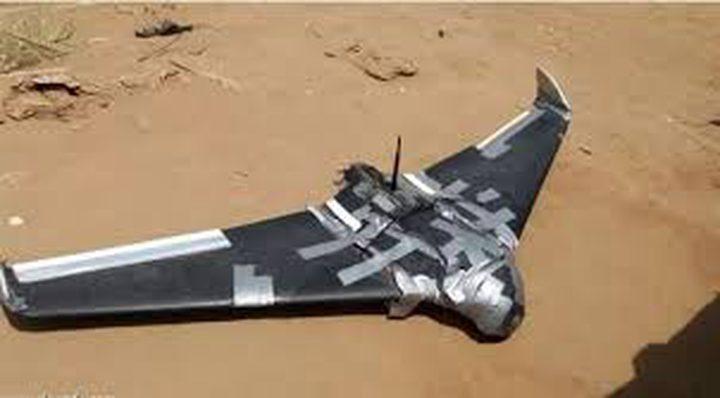 التحالف يسقط طائرة حوثية مسيرة